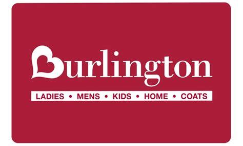 Burlington Gift Card Balance