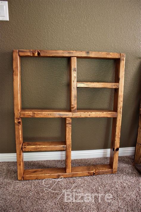 Wood Shelves by 48 Wooden Box Shelves Large Wall Clock Shadow Box Shelf
