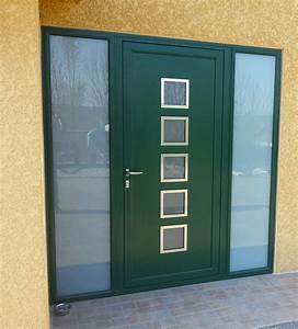 Tringle Porte D Entrée : porte d entr e aluminium sur mesure devis gratuit ~ Premium-room.com Idées de Décoration