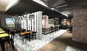 Bar D Interieur : burger food du louvre concept store lens 62 france guillaume da silva ~ Preciouscoupons.com Idées de Décoration