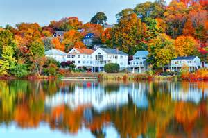 Fall Real Estate Home Image