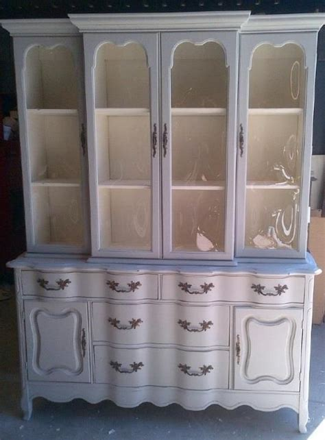 glass for cabinets in kitchen large white china cabinet upcycling painted furniture 6821
