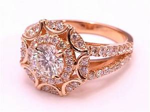 22 pink gold engagement rings tropicaltanninginfo for Wedding rings with pink