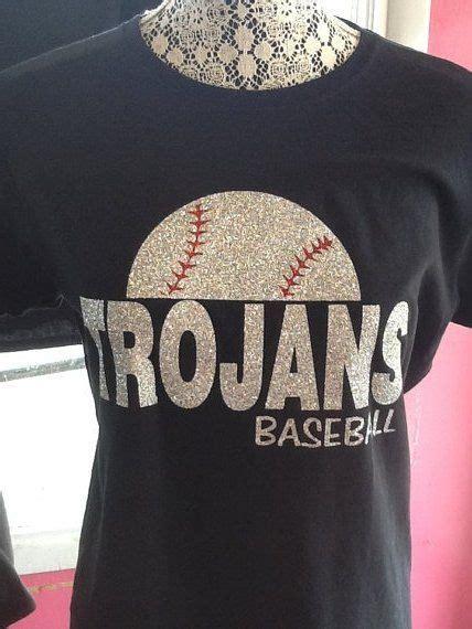 custom baseball spirit glitter fitted  shirt baseball