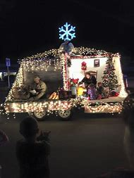 military christmas parade float ideas
