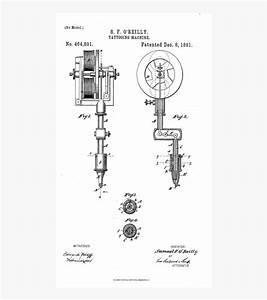 Rotary Tattoo Machine Parts Diagram