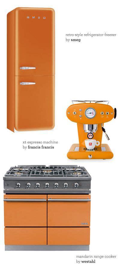 orange appliance love orange kitchen decor kitchen