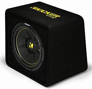 Kicker Car Speakers : kicker vcwc12 car audio compc loaded 12 vented sub box ~ Jslefanu.com Haus und Dekorationen