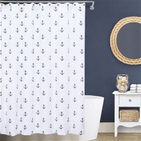 anchor shower curtain buy matelasse shower curtain from bed bath beyond