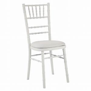 Tiffany Chair White  U2013 Moreton Hire