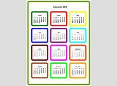 Calendrier 2019 2019 Calendar printable 2018 Download