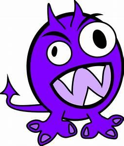 Purple Monster Clip Art at Clker.com - vector clip art ...