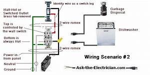 Double Garbage Disposal Switch Wiring Diagram