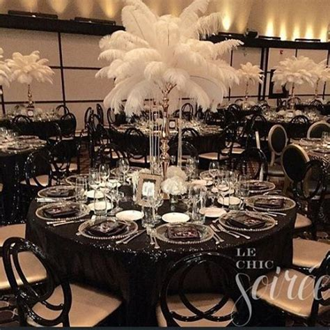 15 glamorous Great Gatsby wedding decorations wedding