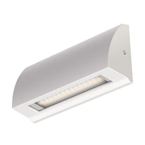 led leuchte flach led wand leuchte segin treppenlicht f 252 r innen und au 223 en flach aufbau warm wei 223 190lm