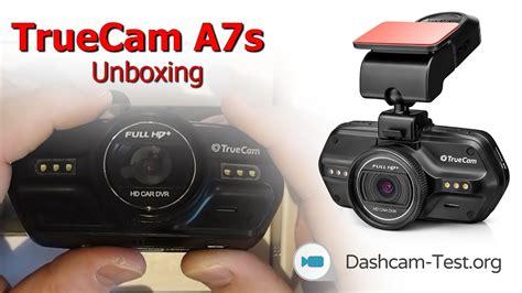 Unboxing Truecam A7s Dashcam Autokamera Hd