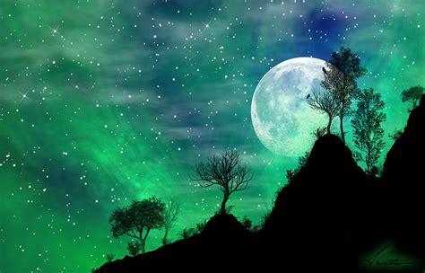 Dreamy Night Digital Art by Anthony Citro