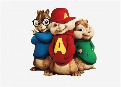 Alvin Clipart Chipmunks Brothers Background Three Transparent