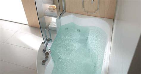 teuco corner whirlpool shower integrates shower