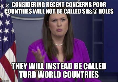 Sarah Huckabee Sanders Memes - a kinder gentler donald imgflip
