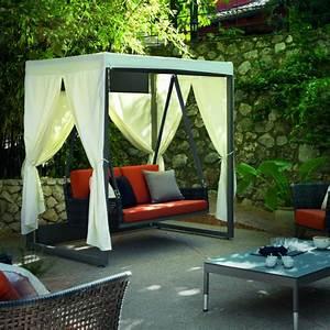 Balancelle De Jardin En Bois : stunning image balancelle jardin ideas awesome interior home satellite ~ Teatrodelosmanantiales.com Idées de Décoration