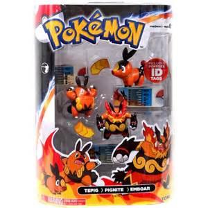pokemon toys tepig pignite emboar 3 pack