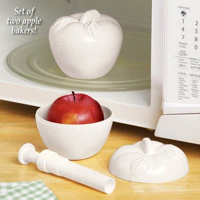 microwave apple baker  apple corer set    collections