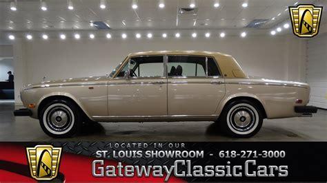 1979 Rolls Royce Silver Wraith Ii by 1979 Rolls Royce Silver Wraith Ii Gateway Classic Cars