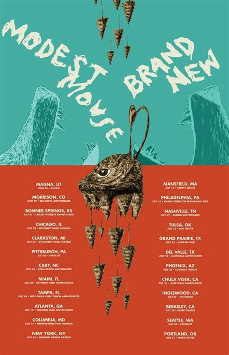 Modest Mouse & Brand New Announce Tour Dates, Including