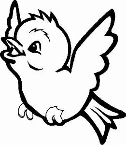 Bird coloring sheet simple decoration birds coloring pages ...