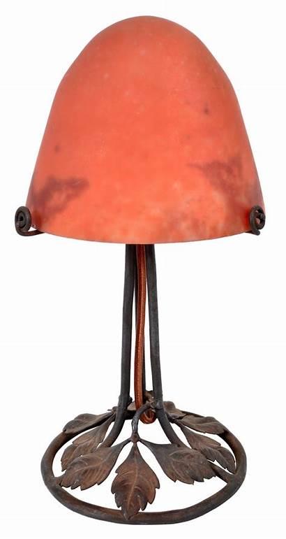 Lamp Table Deco Iron Antique Wrought Brandt