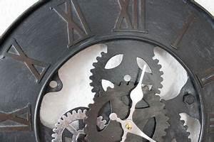 Wanduhr Vintage Metall : wanduhr zahnrad uhr loft aus metall 84605 d 39cm designuhr ~ A.2002-acura-tl-radio.info Haus und Dekorationen
