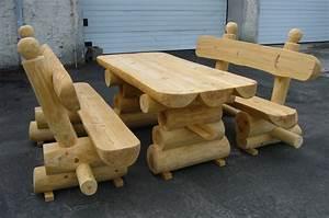 Rustikale Tische Aus Holz : gartenmobel holz massiv rustikal ~ Indierocktalk.com Haus und Dekorationen