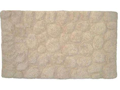 tapis de bain 50x80 cm galet coloris beige conforama