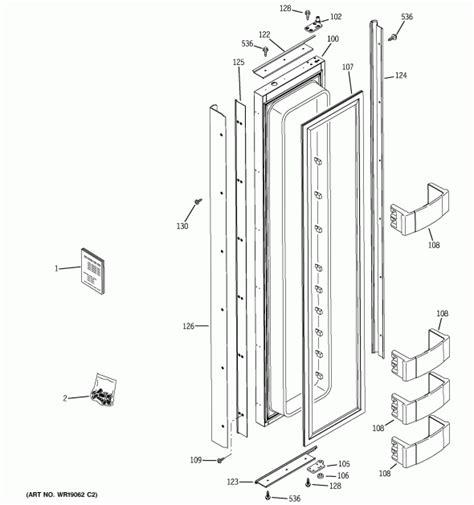 ge zisnmc refrigerator partswarehouse