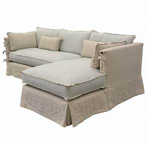 chateau chaise sectional custom made by quatrine sofas With quatrine furniture slipcovers