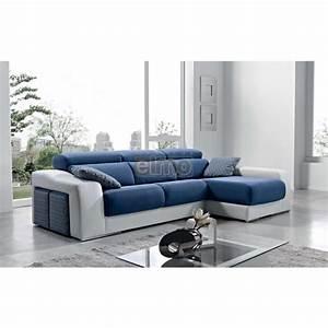 canape d39angle promotion canapes meridienne pas cher With tapis d entrée avec canapé d angle assise coulissante