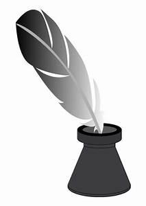Dessin De Plume Facile : image encrier avec plume dessin 28125 ~ Melissatoandfro.com Idées de Décoration