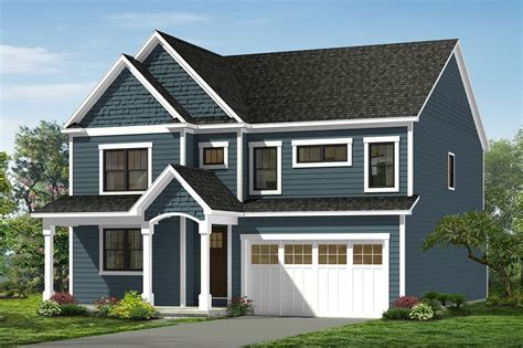 Craftsman Style House Plan 4 Beds 2 5 Baths 2890 Sq/Ft