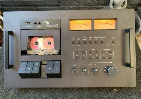 nakamichi 600 cassette deck nakamichi 600 two stereo cassette console