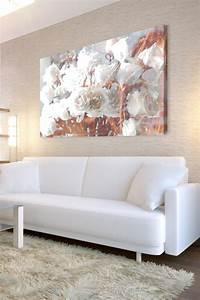 Rose Gold Decor : rose gold metallic floral painting home sweet home pinterest metallic rose and paintings ~ Teatrodelosmanantiales.com Idées de Décoration