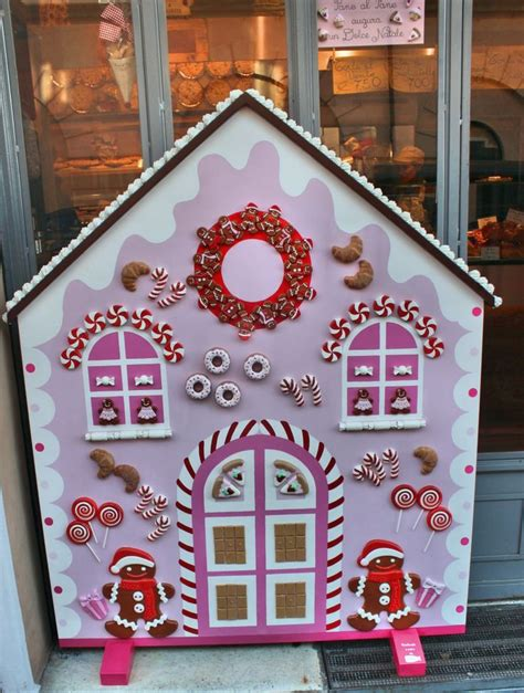 wooden gingerbread house biancolatte decor  creations