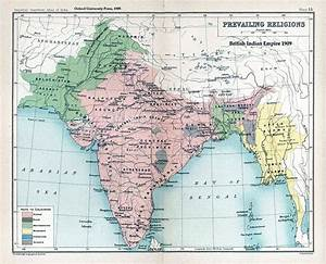 Two-nation theo... India Map Quotes
