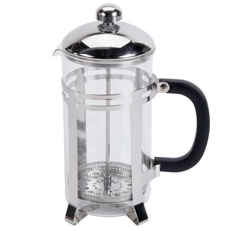 The aeropress coffee maker is an extremely portable product that allows you to make your favorite cup of coffee wherever you are. 33 oz. Glass / Stainless Steel French Coffee Press