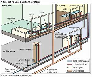 Plumbing  Typical Home Plumbing System
