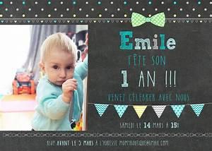 1 An Anniversaire : carte d 39 invitation 1er anniversaire par momyboutique sur etsy ~ Farleysfitness.com Idées de Décoration
