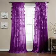 purple curtains drapes walmart com