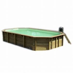 Piscine Bois Ubbink : piscine bois azura ubbink 400x750cm h 130cm liner bleu ou ~ Mglfilm.com Idées de Décoration