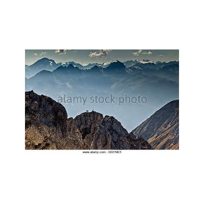 Austrian Mountaineer Stock Photos &
