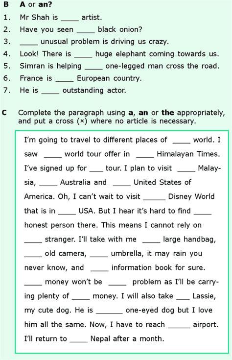 grade  worksheets english grammar picture ideas